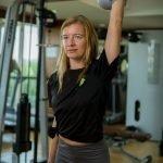 Abu Dhabi Female Yoga Teacher Veronika - Kettlebell Exercises