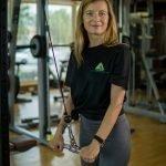 Abu Dhabi Female Yoga Teacher Veronika - Lat Pull Down Exercises