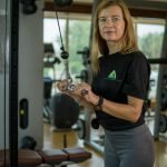 Abu Dhabi Female Yoga Teacher Veronika - Training Machines Exercises