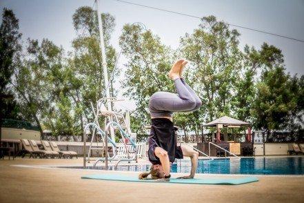 Abu Dhabi Female Yoga Teacher Veronika - Yoga Poses 10
