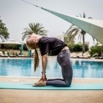 Abu Dhabi Female Yoga Teacher Veronika - Yoga Poses 2
