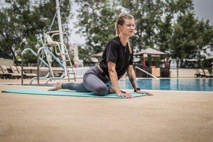 Abu Dhabi Female Yoga Teacher Veronika - Yoga Poses 8