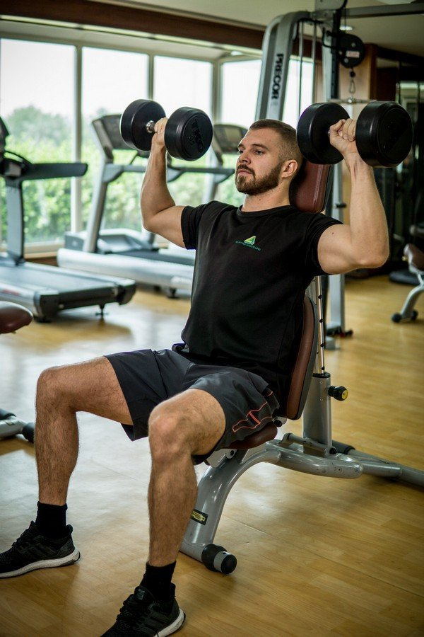 Abu Dhabi PT Ryan - Dumbbell Training Arms Exercises 2