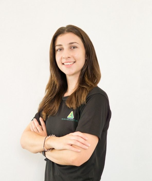 female pt and group fitness coach in Abu Dhabi - Vanessa