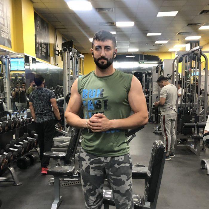 Kickboxing Personal Trainer Dubai – Halil