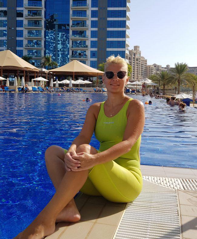 Dubai Swimming Coach & Swim Fit Trainer – Alisa