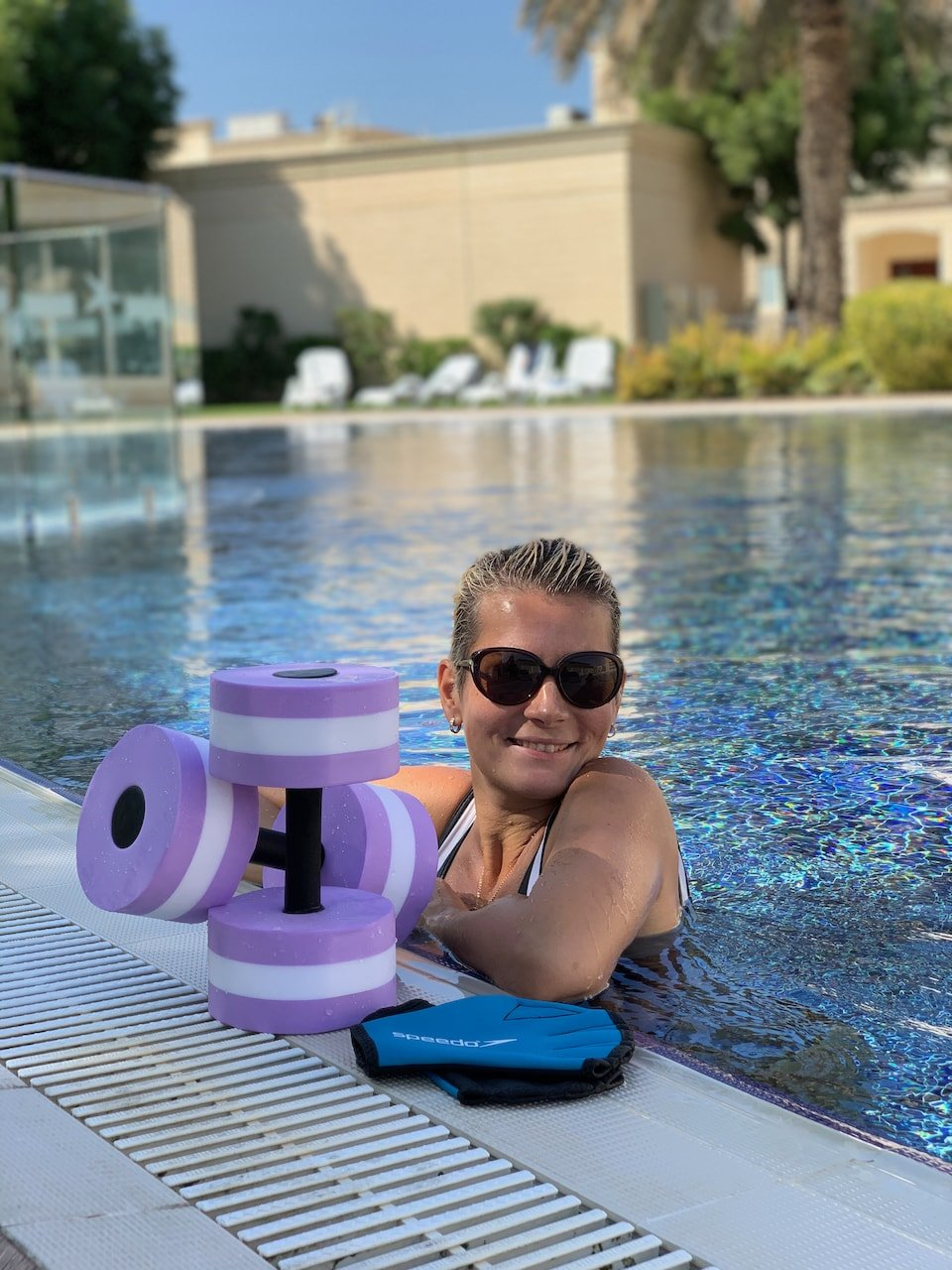 swimming lessons for kids in Dubai with Alisa