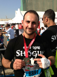 Boxing trainer - Self Defense Coach Dubai - Samer