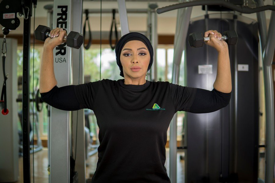Amina - ladies fitness personal trainer in Abu Dhabi