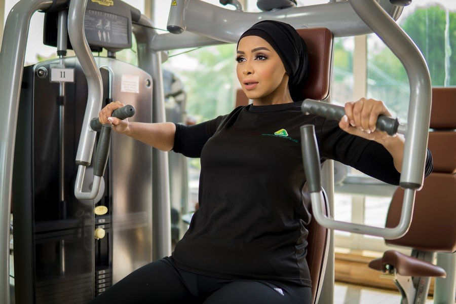 Amina - ladies personal fitness coach in Abu Dhabi