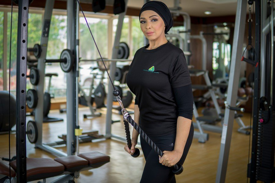 Amina - ladies personal trainer and diet expert in Abu Dhabi
