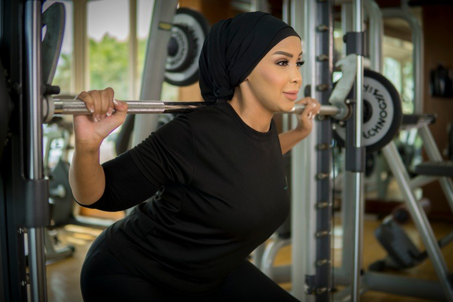 Amina - ladies personal trainer and weight loss specialist in Abu Dhabi