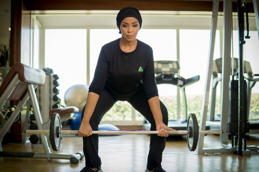 Amina - ladies personal trainer in Abu Dhabi
