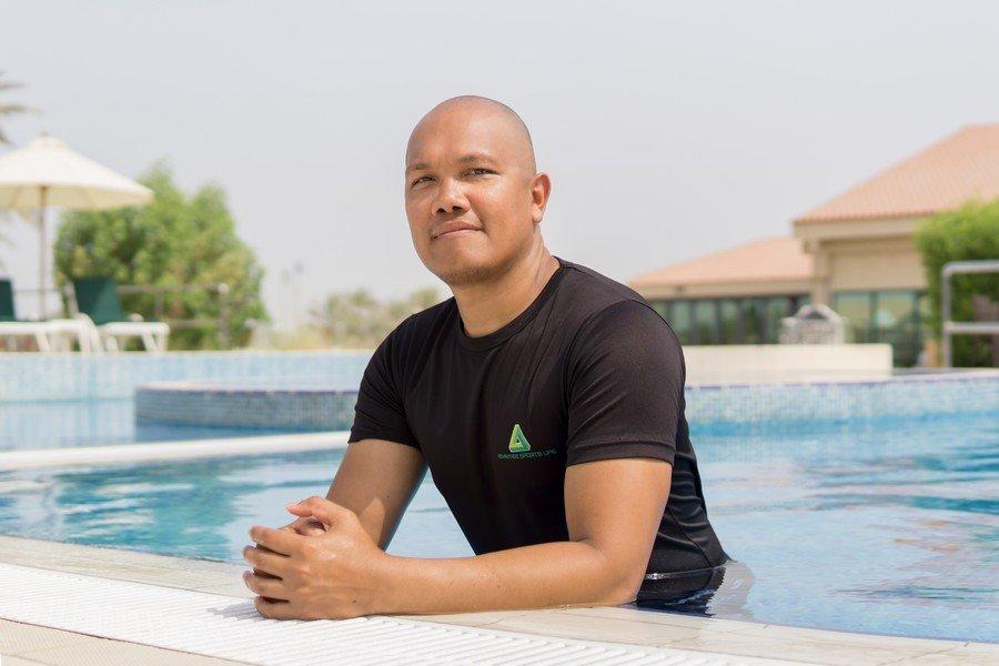 Harold - Group Swimming Coach For Kids In Abu Dhabi