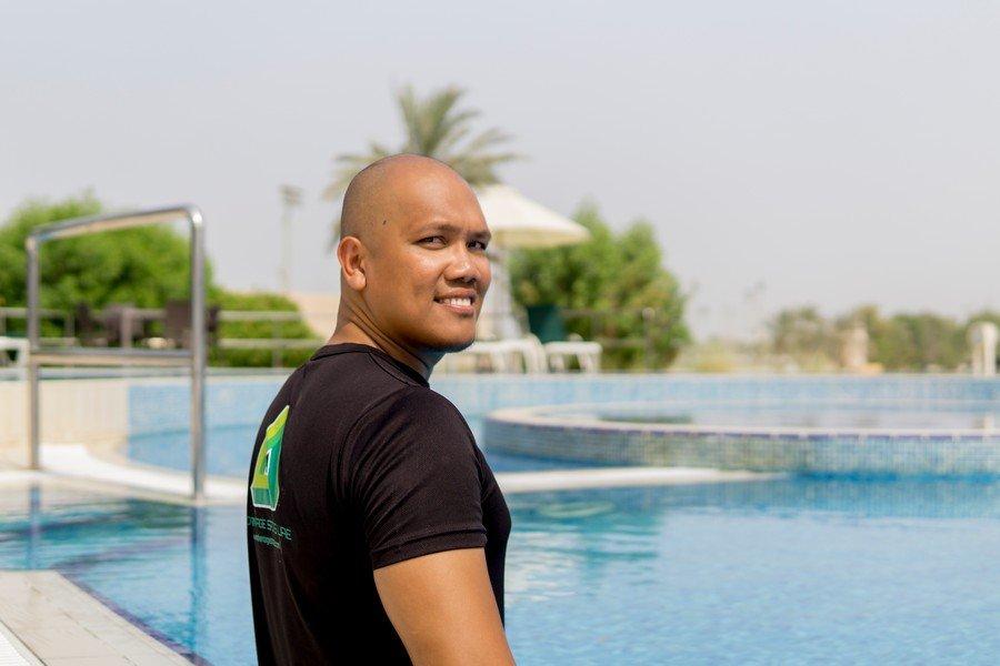 Harold - Swimming Coach For Senior Fitness In Abu Dhabi
