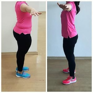 PT Szabina Weight Loss Client Image 1