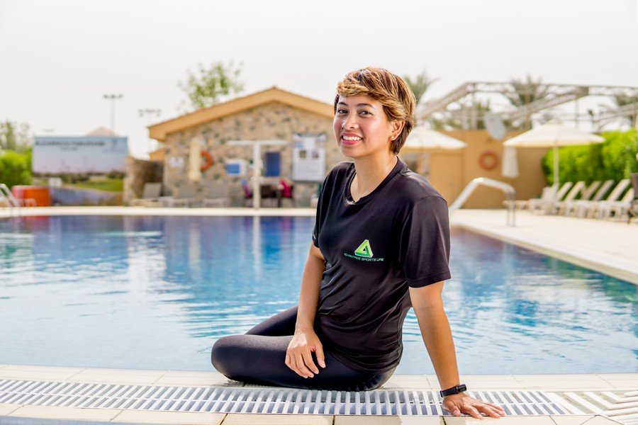 Private and group swimming coach in AD - Everlyn