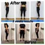 weight loss before and after with Dubai PT Viktoria