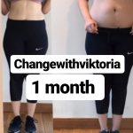 weight loss and body toning results image - dubai pt viktoria