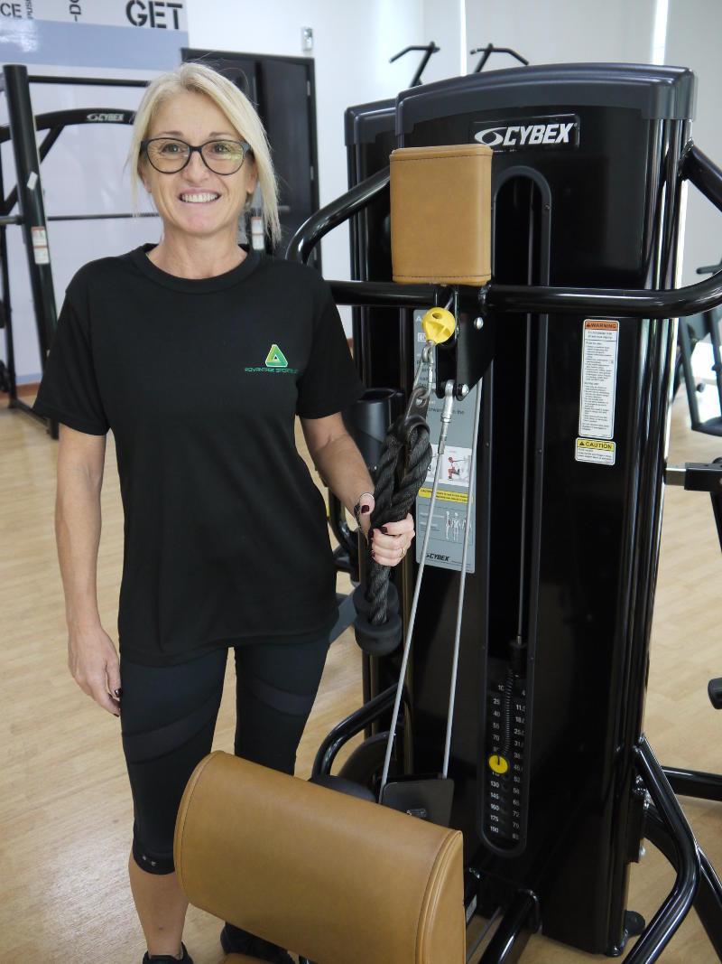 Female PT in Abu Dhabi Barbara Gym Workouts