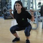 abu dhabi female fitness personal trainer nermin barbell training