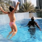 Babies Aqua Swimming Lessons In Dubai With Irene