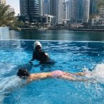 Irene - female swimming trainer for at home lessons in Dubai