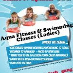 Swimming lessons in Dubai with Irene - promo flyer 1