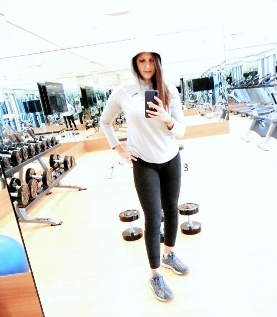 female personal trainer and fitness coach in Dubai - Tasneem