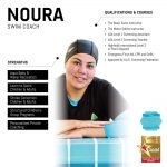 noura - female abu dhabi personal trainer - skills and qualifications infographic