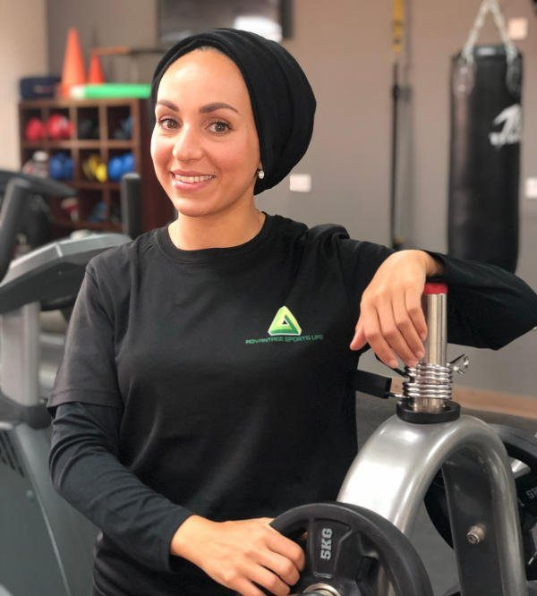gym workouts in abu dhabi with pt loubna