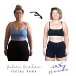 Aileen - Female PT Abu Dhabi - Client Weight Loss Transformation Image 2