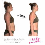 Aileen - Female PT Abu Dhabi - Client Weight Loss Transformation Image 4