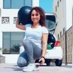 At home fitness coaching in Abu Dhabi with Claudia - MMA - Boxing