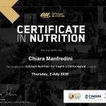 Chiara - Abu Dhabi Female PT Nutrition Certificate