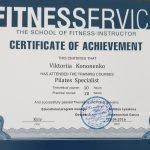 Female PT In Dubai Viktoria - Training Qualification Certificate 5