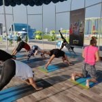 Group Yoga Coaching In Dubai with PT Poonam - Image 1