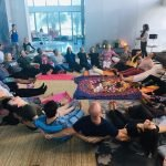 Group yoga classes for all ages in Abu Dhabi with Coach Elena