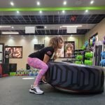 Gym training in Abu Dhabi with personal fitness coach Claudia
