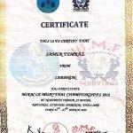 Samer - Kickboxing, Boxing & Martial Arts In Dubai - Certificate 3