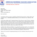 Dubai Swimming Coach For Adults and Kids - Nader - Swimming Teaching Certificate