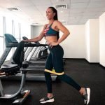 Treadmill workouts in Dubai with professional Personal Trainer Irina