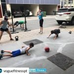 childrens fitness crossfit training in Abu Dhabi with PT Rachel