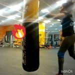 female boxing personal trainer and fitness coach in Abu Dhabi - Claudia Garcia