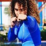 female martial arts personal trainer in Abu Dhabi - Claudia
