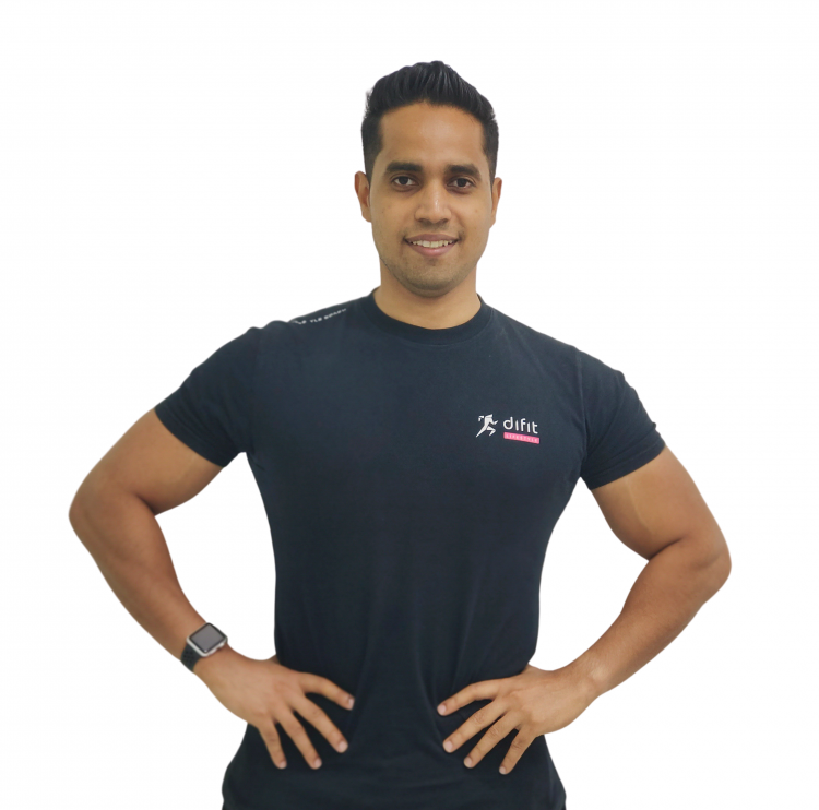 freelance personal fitness trainer in Dubai - Shihab