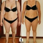 Weight loss and body toning results image from Dubai PT Amanda Warlo