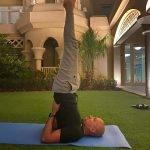 Yoga teaching in Dubai with personal yoga coach Amanda Warlo