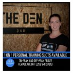 female fitness coach in Dubai - Naomi - at home personal training