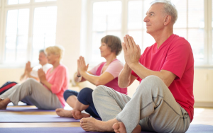 yoga for seniors in the uae
